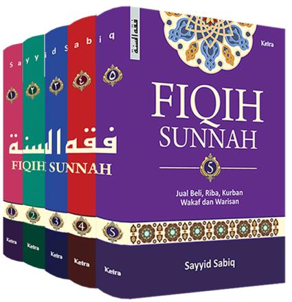 Fiqih Sunnah (1 set, 5 jilid)